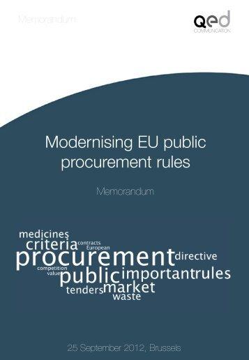 Memorandum - Qedcommunication.eu