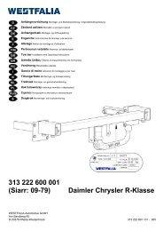 313 222 600 001 (Siarr: 09-79) Daimler Chrysler R ... - Autoteilefrau.eu