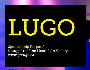 sponsorship package - Mendel Art Gallery