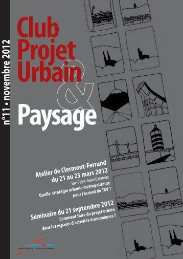 Club Projet urbain & Paysage - Fnau