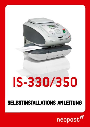 4151262FcCV formatA4 IS330 350 Suisse D GI.pmd - Neopost
