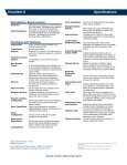 ViconNet Version 6 Data Sheet - Vicon - Page 2