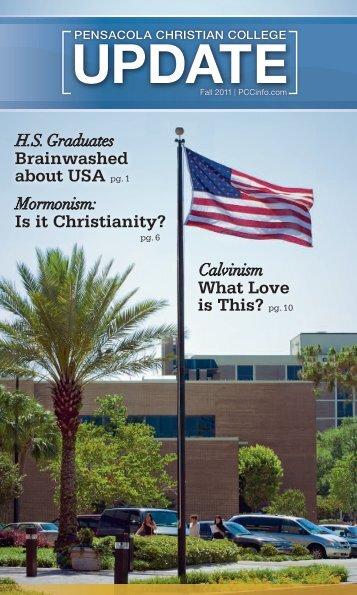 PCC Update Fall 2011 - Pensacola Christian College