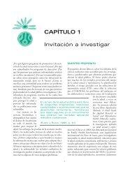 CAPÍTULO 1 Invitación a investigar - PAHO Publications Catalog