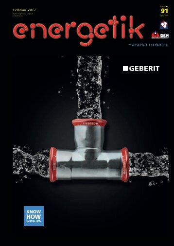 Stran Seznam oglaševalcev - Energetik revija