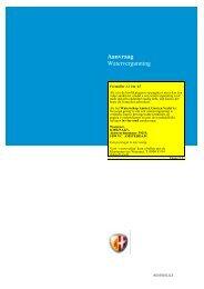 Aanvraag Watervergunning - Waternet