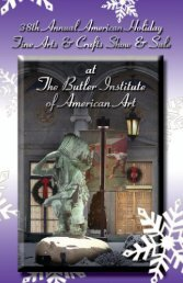 Craft Show Invite - The Butler Institute of American Art