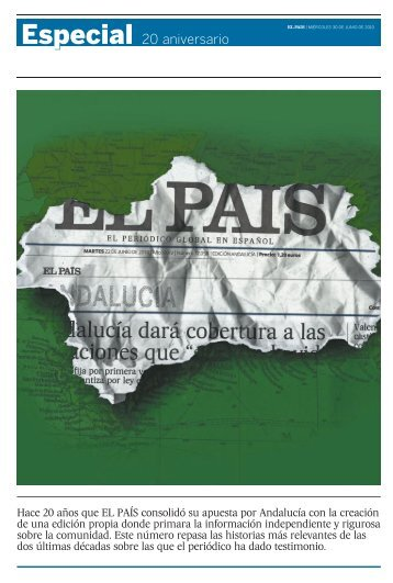 Especial 20 aniversario - El País
