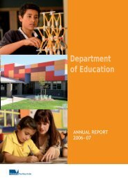 PDF - 1006Kb - Department of Education and Early Childhood ...