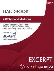 2012 Inbound Marketing - meclabs