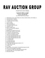 General Goods Auction Catalogue Auction Date 28/03/13 @6:30pm ...