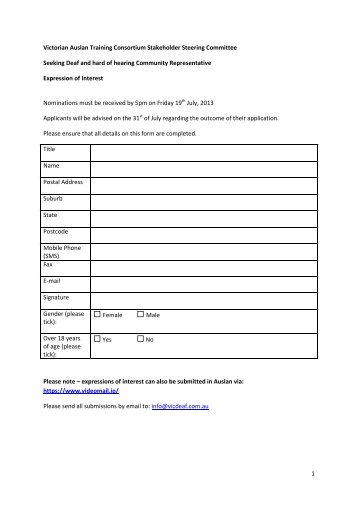 Expression of interest form eoi pdf 2mb switchover help scheme to download the expression of interest form in pdf format vicdeaf altavistaventures Gallery