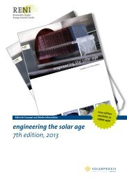engineering the solar age 7th edition, 2013 - Renewables Insight