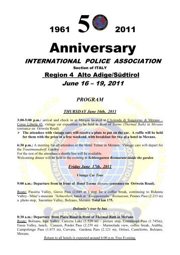 Anniversary - ipa – czech section