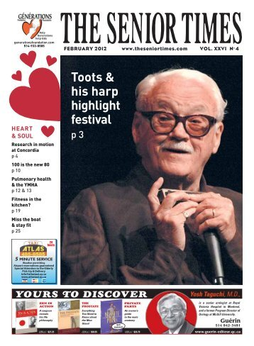 February 2012 - The Senior Times