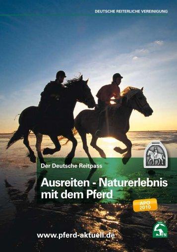 Ausreiten - Naturerlebnis mit dem Pferd