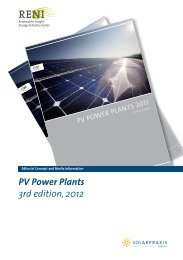 PV Power Plants 3rd edition, 2012 - Renewables Insight
