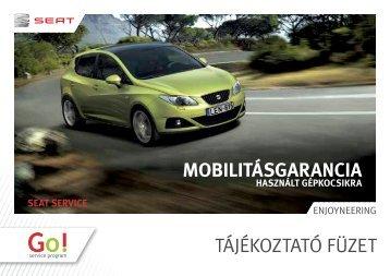 Mobilitásgarancia meghosszabbítása - Seat.hu