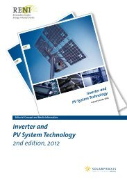 Inverter and PV System Technology 2nd edition, 2012