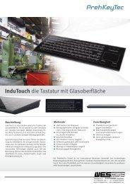 Glas-Tastatur mit Glidepad - WES EBERT SYSTEME ELECTRONIC ...