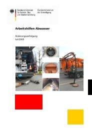 Änderungen_Juli_2005.pdf (969 kByte) - Arbeitshilfen Abwasser