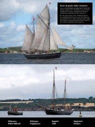 Skibsnavn: ANNA MØLLER Skibstype: Fragtgalease Byggeår: 1906 ...