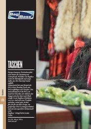 BaGS taSchen - Stickarbeiten Bock