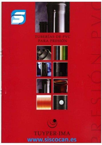 Tubas magazines - Tubos pvc presion ...