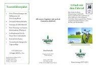 Urlaub mit dem Fahrrad Tourenfahrerpaket - Hotel Pasewalk