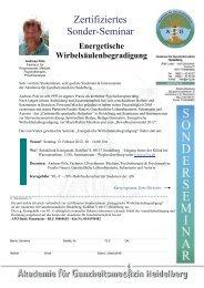 Energetische Wirbelsäulen-begradigung - Akademie für ...