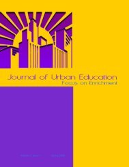Journal of - Southern University New Orleans
