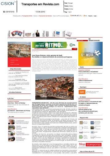 As cidades e o desenvolvimento da economia portuguesa
