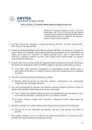 Nota Técnica n° 06/2012/COBIO/GESEF/GGMED/ANVISA-MS - Fcm