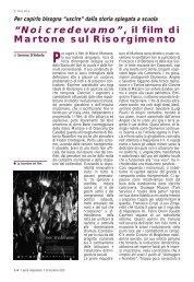 """""""Noi credevamo"""", il film di Martone sul Risorgimento - Anpi"""