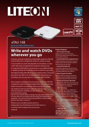 Write And Watch DVDs Wherever You Go - LITE-ON ODD