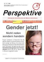 Perspektive 0108.indd - Zentralverein der Wiener Lehrerschaft