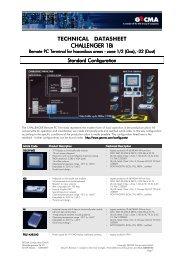 Challenger 18i Datasheet - Extronics