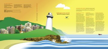 Annual Report 2003 - Wollongong City Council - NSW Government