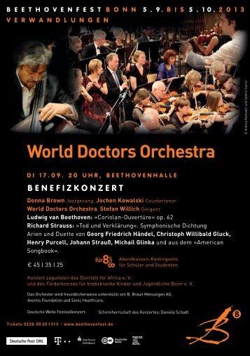 World Doctors Orchestra - QStreetMDs.com