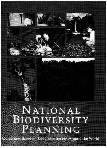 National Biodiversity Planning - World Resources Institute