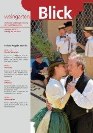 Ausgabe 15/2013 - Weingarten im Blick