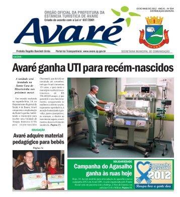 edição 564 - Câmara Municipal de Avaré