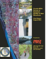 County-wide Survey of Sediment Quality at Weir - Sarasota ...