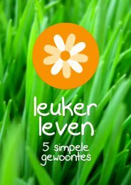 Leuker Leven - 070714