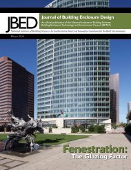 (JBED) - Winter 2010 - The Whole Building Design Guide