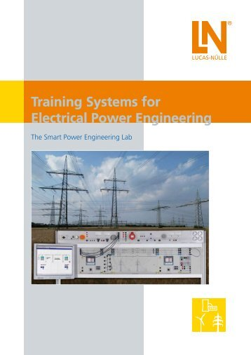 Training Systems for Electrical Power Engineering - techno volt