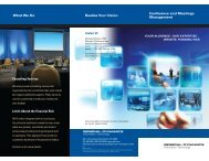 Conference and Meetings Management Contact Us Consulting ...