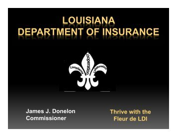 P&C Form Filing - Advanced - Louisiana Department of Insurance