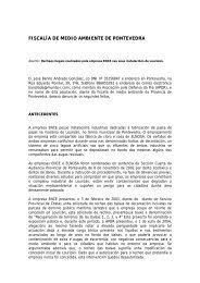 Denuncia ao Fiscal de Medio Ambiente - Asociación pola defensa ...
