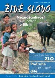 Celé číslo 1 ke stažení - Křesťanský sbor Český Těšín